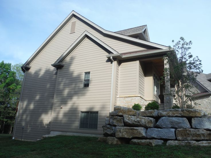 West Side Of The House James Hardie Cobblestone Smooth 7