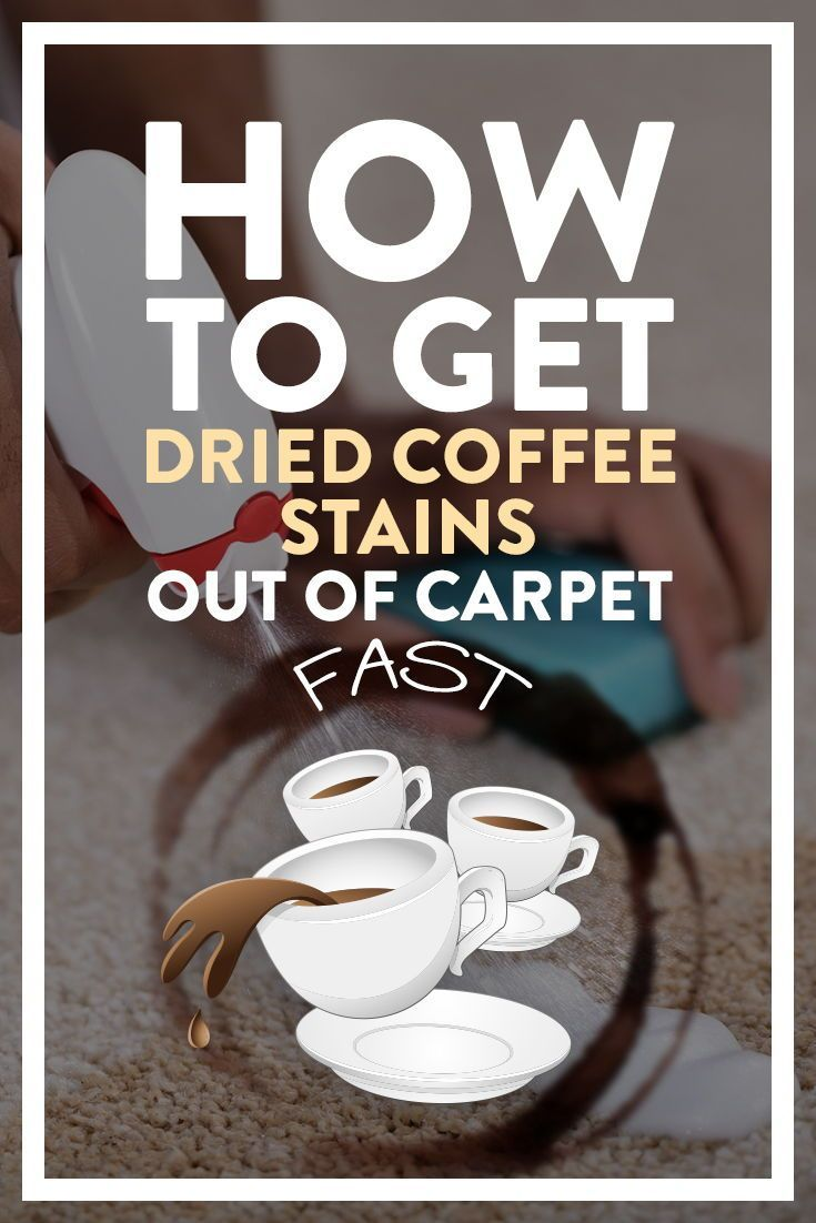 How To Get Dried Coffee Stains Out Of Carpet Fast Easy In 2020