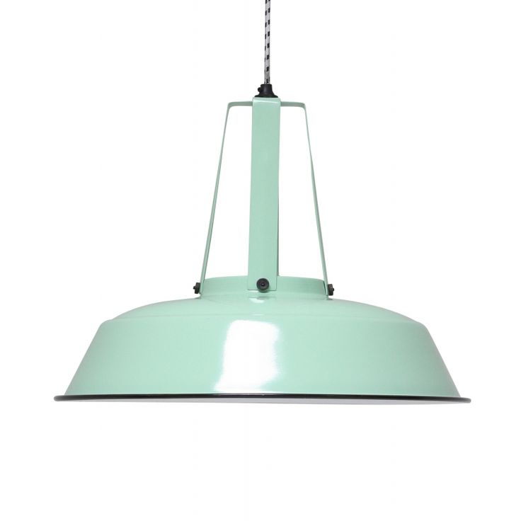 HKLiving Large workshop lamp mint green