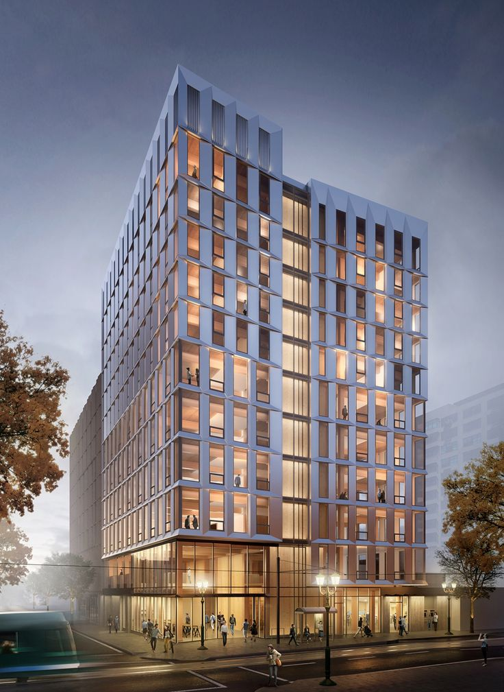 The United States' First Mass-Timber Highrise Receives Planning Permission