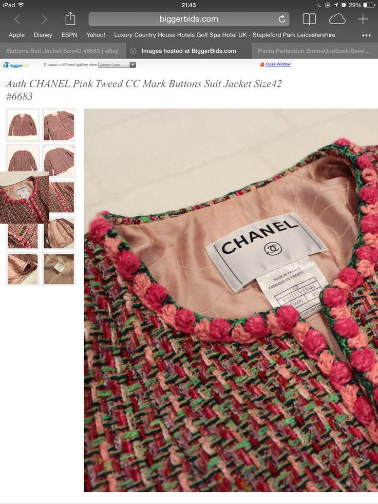 Chanel crochet trim inspiration