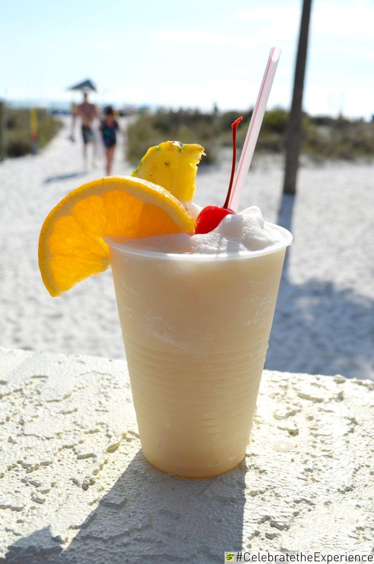 Pina Colada at Sirata Beach Resort   #PinaColada #Drinks #Beach #Florida #Fun #Sun #Family #Bar #Pineapple #StPete #StPeteBeach #Clearwater #Tampa #Vacation #Resort