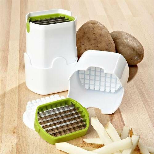 Francês Fry cortador de batata cortador de batata passo cortador de ferramentas de cozinha legumes fruta Slicer Chopper alishoppbrasil