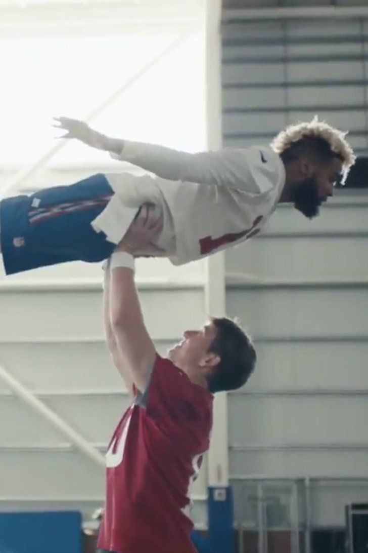 Eli Manning and Odell Beckham Jr. Have the Time of Their Lives in Hilarious Super Bowl Ad