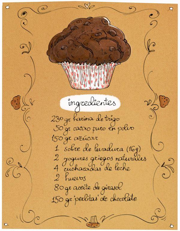 Carton Cooking: Muffins de chocolate para domingos vagos