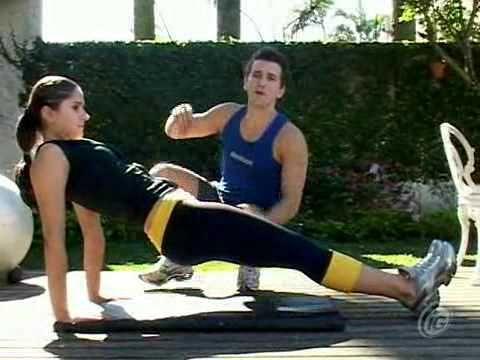 ▶ Ginástica em casa: treino pré-verão 4 - YouTube
