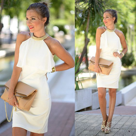 Get this look: http://lb.nu/look/7628774  More looks by Helena Cueva: http://lb.nu/miaventuraconlamoda  Items in this look:  Buylevard Dress, Mango Handbag   #chic #classic #elegant