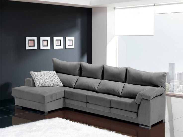 Sofa chaise longue 4 plazas inspiraci n de dise o de for Chaise longue interiores