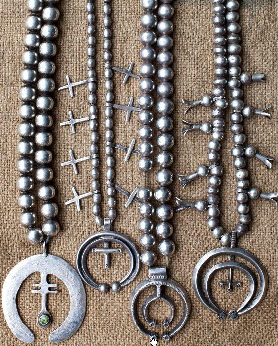 silver squash blossom necklaces