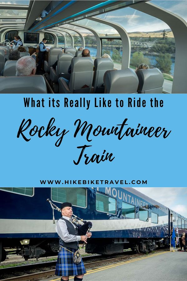 What the Rocky Mountaineer Train Ride is Really Like