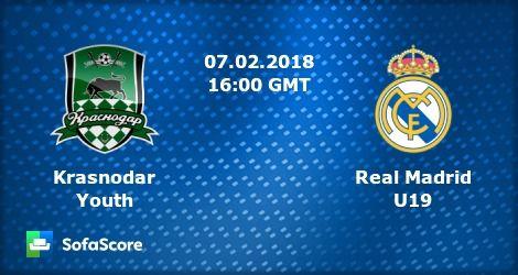Krasnodar vs Real Madrid U19 Live Stream free online link http://www.fblgs.com/2018/02/krasnodar-vs-real-madrid-u19-live.html
