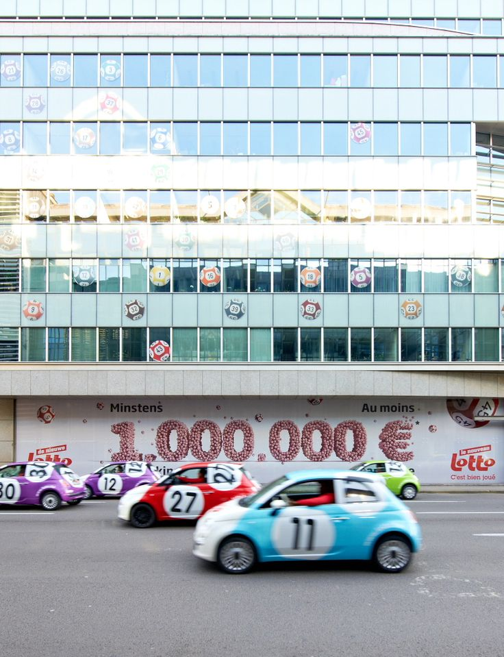 45 Fiat 500's zetten nieuwe Lotto kleur bij Attempt to suceed in the lotto, play a ticket virtually every 7-day period.