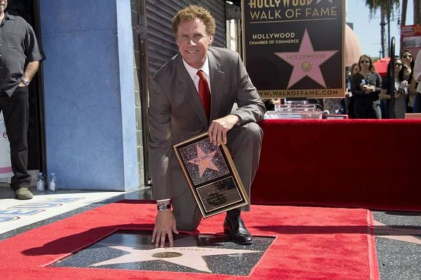 """""""Get Hard's"""" Will Ferrell Gets Star on H'Wood Walk of Fame 