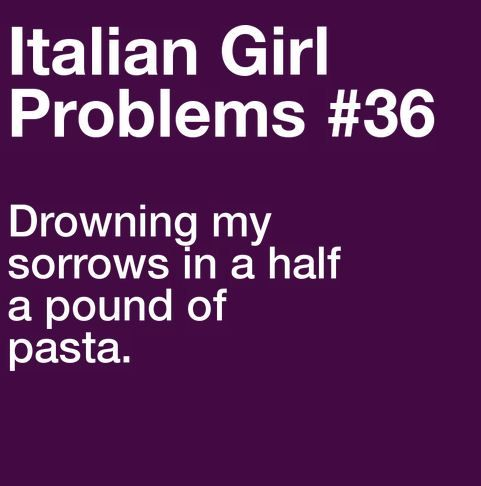 I could eat pasta all the time. And to think when I was little my mom said i spit it out!