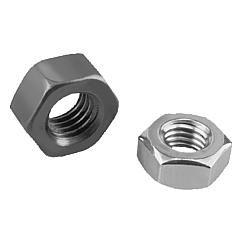 Ecrou H DIN 934 / DIN EN ISO 4032 / DIN EN 24032 // Hexagon nuts DIN 934/DIN EN ISO 4032/DIN EN 24032 // REF 07210