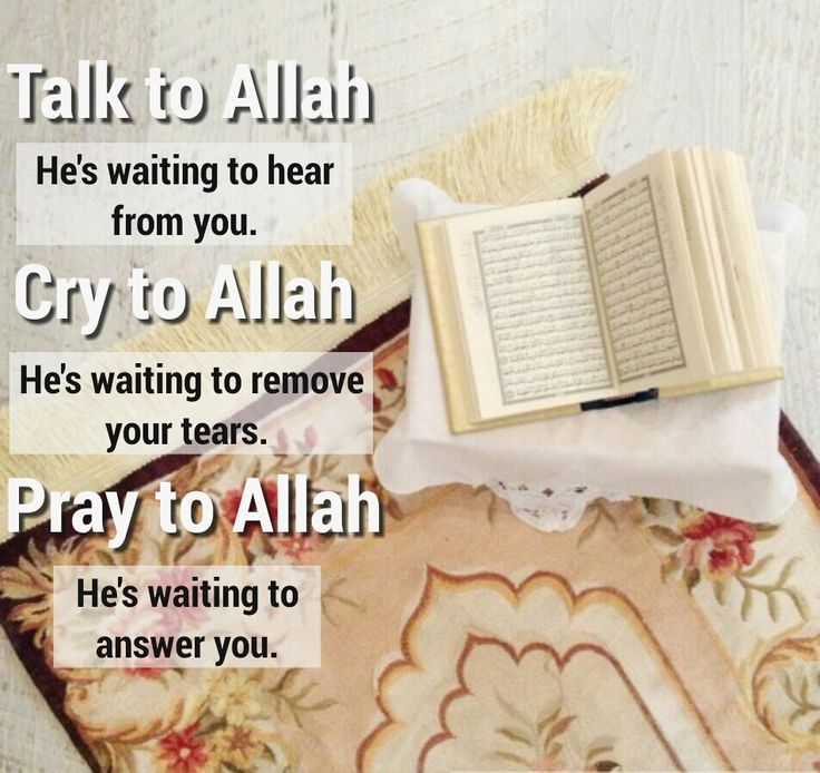 Talk to Allah(s.w.t )
