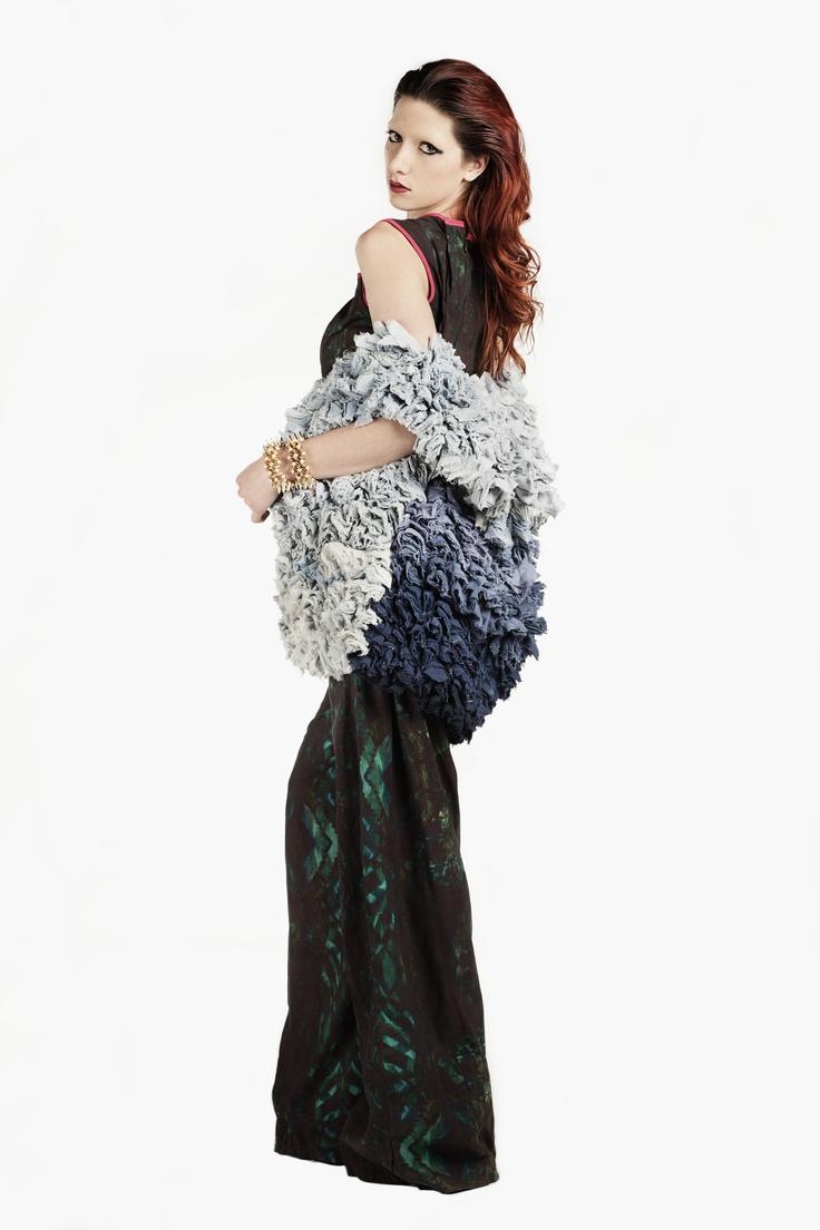 Fashion and Textile Design: Hollie Cooper [photographer Justyna Kloch retoucher Liliya Ivanova]