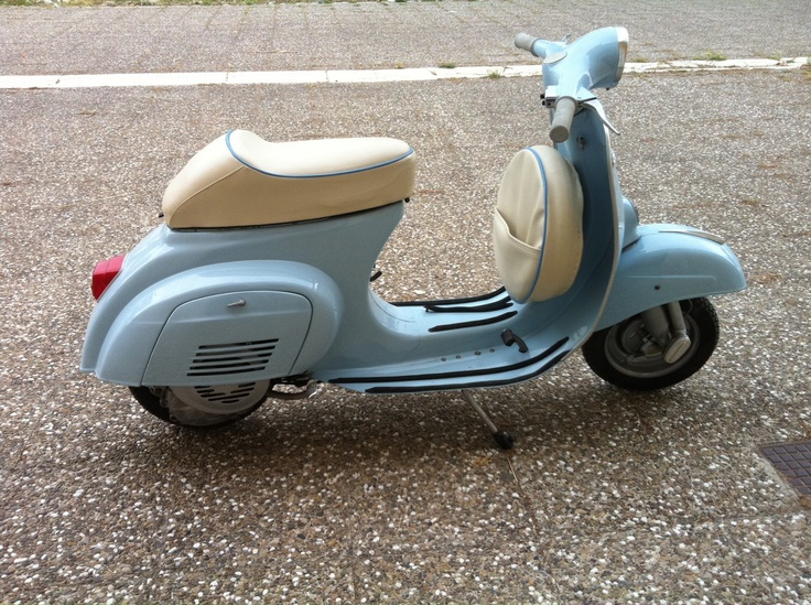 Clap your Hands to the Classic...  Vespa