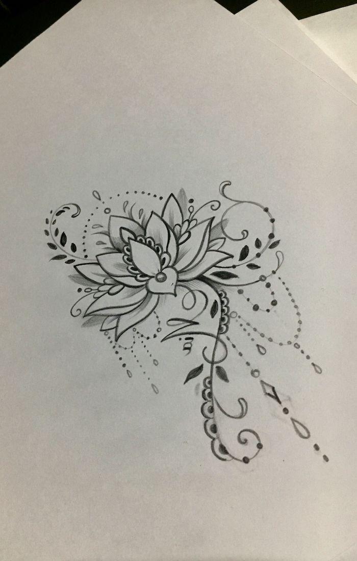 Dessin Tatouage Femme