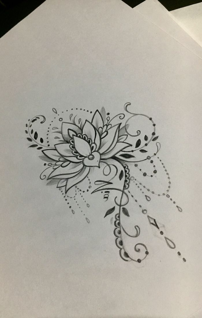 39+ Dessin fleur de lotus tatouage ideas in 2021