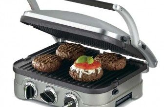Cuisinart GR-4N 5-in-1 Griddler – works as a contact grill, panini press, full grill, full griddle and half grill/half griddle.  BEST GRILL PAN REVIEWS & THINGS TO CONSIDER BEFORE PURCHASING ONE. Did you ever want to grill great steakhouse steaks? Or, did you want to get those lovely lines on rich meat, fresh fish or green veggies? Whatever the reason, a grill pan can come handy seriously impressing your kith and kin with your chef skills. https://bestgrillpanz.com/