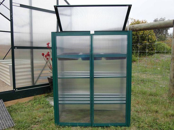 Mini Space Saver - Polycarbonate Greenhouses Australia, Glasshouses
