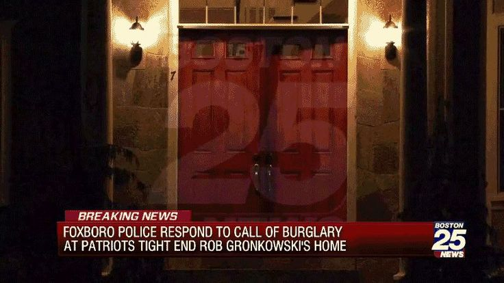 Report: Foxboro Police Called To Rob Gronkowskis House For Reported Burglary