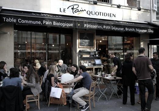 Le Pain quotidien, Place du marché St Honoré, Paris