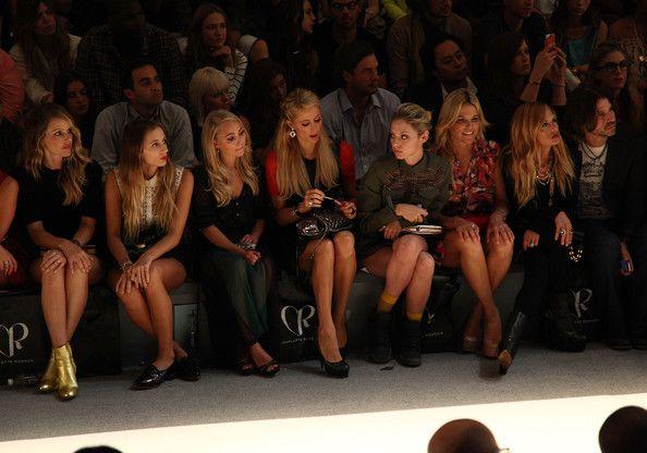 AnnaSophia Robb Photos - Charlotte Ronson - Front Row - Spring 2013 Mercedes-Benz Fashion Week - Zimbio