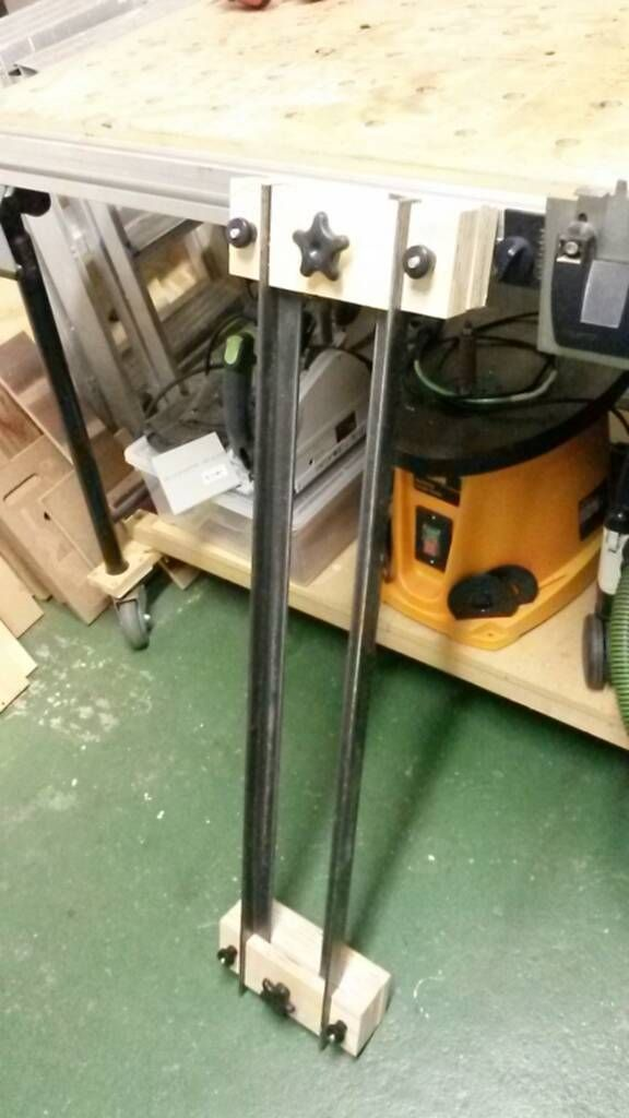 Router planing sled #woodworkingtips