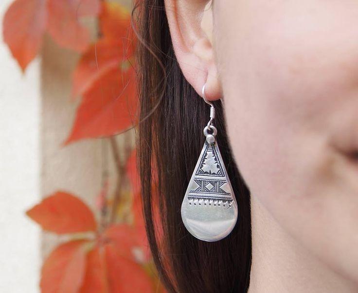 Soare cu dinți 😎 #metaphora #silverjewellery #silverjewelry #earrings #tuareg #tuaregjewellery