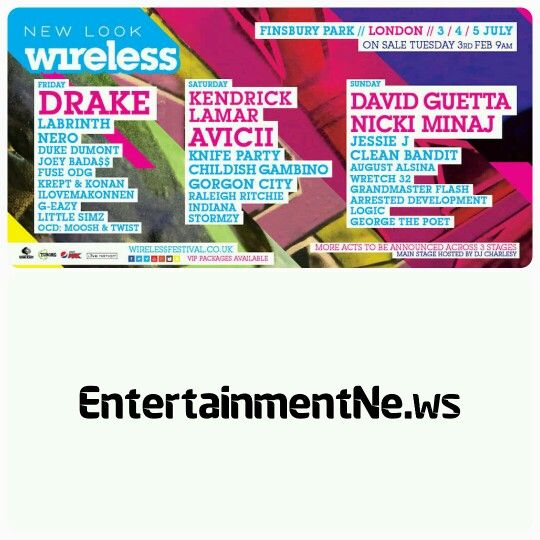 #WIRELESSFESTIVAL 2015   #Willow and #JadenSmith will perform at 2015 Wireless Festival this summer.  Will and #JadaPinkettSmith's kids are being added to the roster for the event in London this July, along with twenty three others names, including #CharliXCX and #JessGlynne.  #Avicii, #DavidGuetta and #Drake were announced as headliners for Wireless 2015 back in January.   (Notes: Wireless Festival takes place over the weekend of July 3rd-5th, 2015.  Names added today include: Charli XCX…