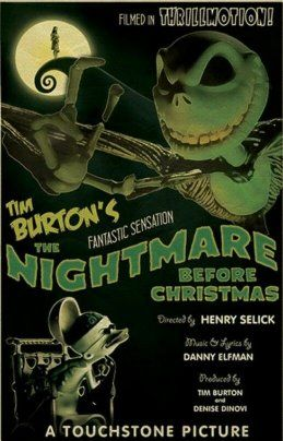 Danny Elfman, Catherine O'Hara, Chris Sarandon, and William Hickey in The Nightmare Before Christmas (1993)