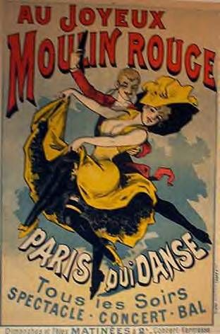 Vintage Moulin Rouge Paris | MUSIC…ART…SONGS…NOSTALGIA WERE THE FABRIC AND SOUL OF FRENCH ...