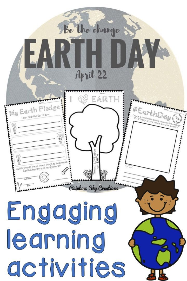 Earth Day Pack Years 1 2 Paper Digital Version Distance