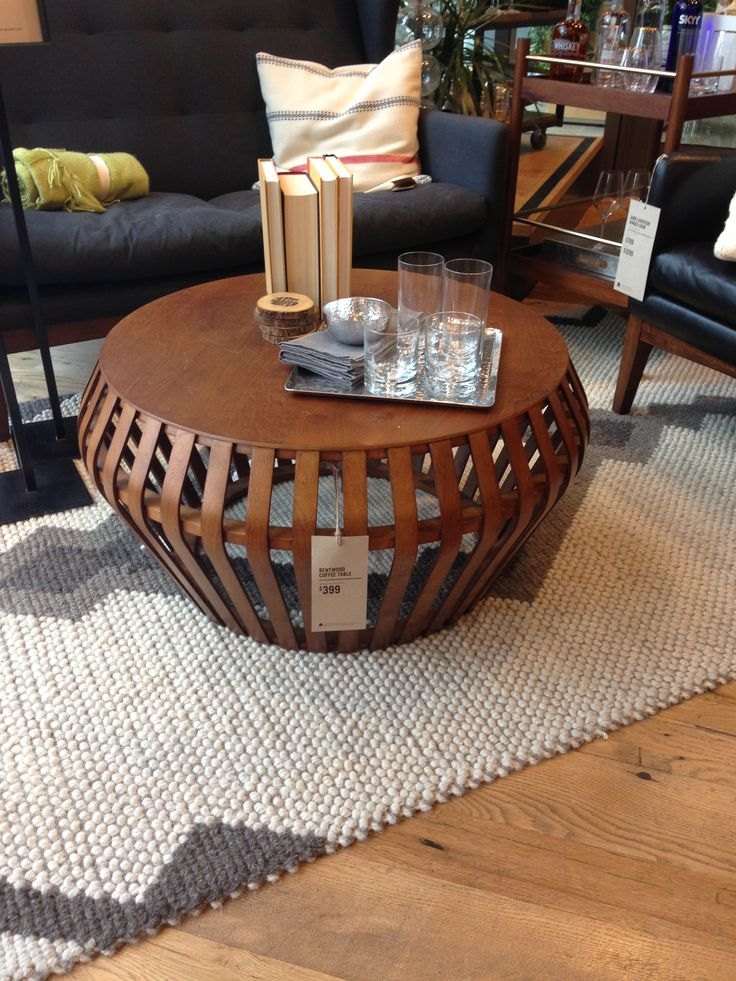 West Elm Bentwood Coffee Table Newmark 705 Pinterest Coffee Coffee Tables And Tables
