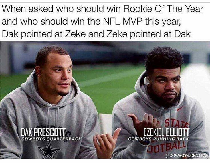 Dak Prescott And Zeke Elliott