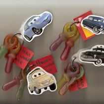 Traktatie - Nog een cars traktatie, maar je eigen sleutelbos! Je kunt hier altijd nog een persoonlijke boodschap aan hangen