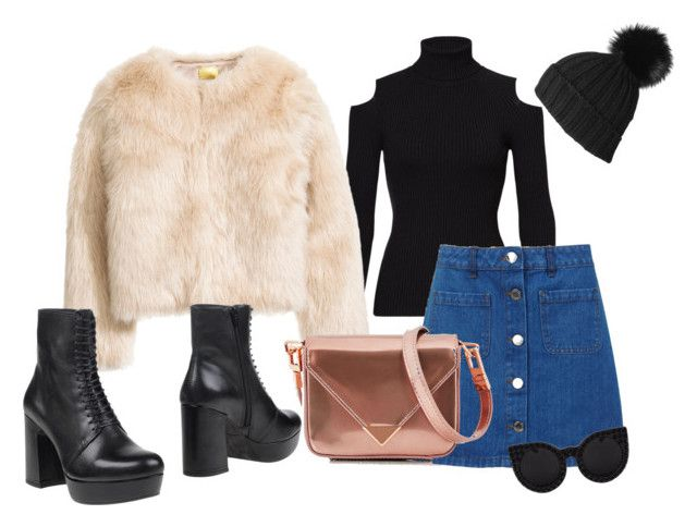 """""""winter2"""" by adela-simkova on Polyvore featuring Theory, Miss Selfridge, Vagabond, Black, Delalle and Alexander Wang"""