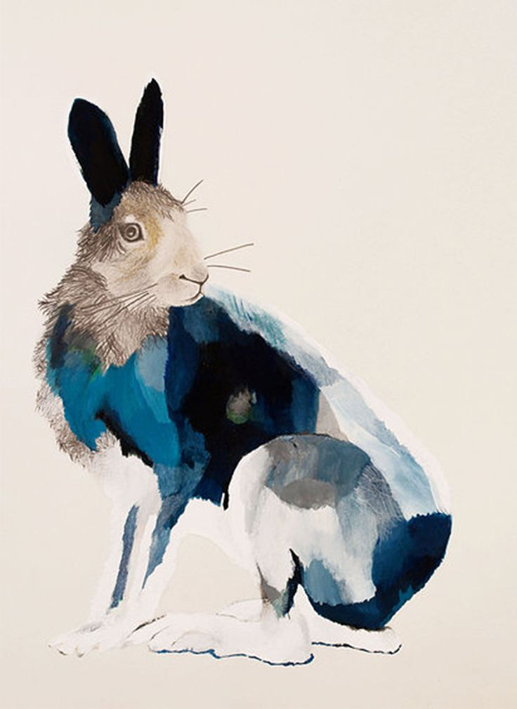 Arctic Bunny Giclee Print - Limited Edition