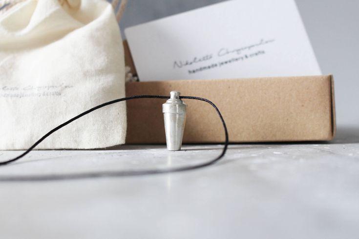 big shaker pendant by Nikolettashop on Etsy