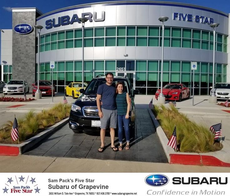 Congratulations Jose on your #Subaru #Forester from Sean Roberts at Five Star Subaru of Grapevine!  https://deliverymaxx.com/DealerReviews.aspx?DealerCode=M315  #FiveStarSubaruofGrapevine
