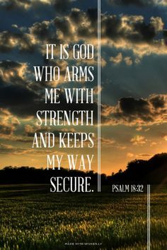 Caught in Your #Grace - #Psalm 18:32 http://www.roanokemyhomesweethome.com