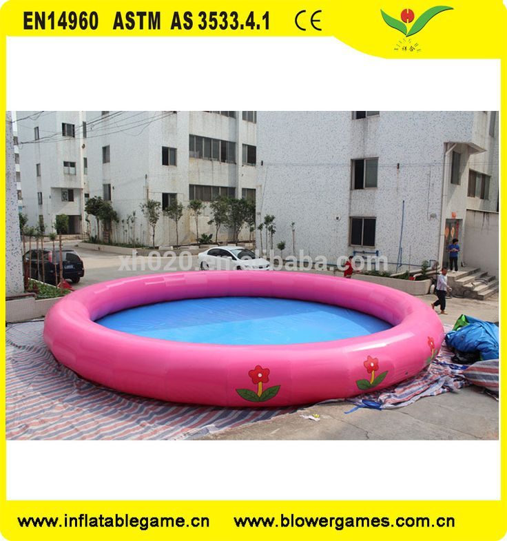 Outdoor large round pool big OEM size inflatable adult swimming pool