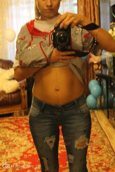 Когда влесть в джинсы после родов