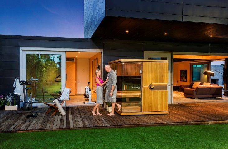 #infraredsauna #homesauna #infrared #Sunlighten #homedesign #design #home #sauna #style #wellness #fit #interiordesign #indoor #outdoor
