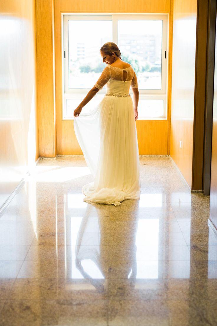 O vestido da noiva! #wedding #noiva