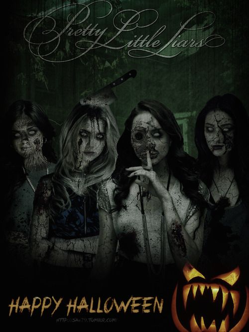Happy Halloween! Love this amazing fan art from http://saii79.tumblr.com/!