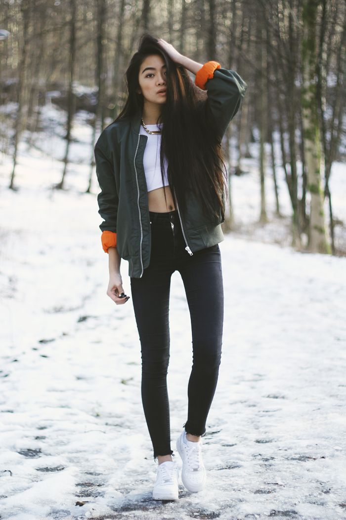 Casual street style fashion | More outfits like this on the Stylekick app! Download at http://app.stylekick.com