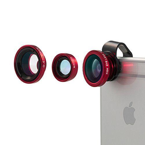 Lente para móviles,Vinsic® universal desmontable Objetivo ojo de pez de 180°+Objetivo gran angular +Objetivo macro 3-en-1 Kit de objetivos de cámara fácil de usar, especialmente para el iPhones, iPhone 6 6 Plus 5 5c 5s 4s 4 3 - http://www.tiendasmoviles.net/2016/04/lente-para-moviles%ef%bc%8cvinsic-universal-desmontable-objetivo-ojo-de-pez-de-180objetivo-gran-angular-objetivo-macro-3-en-1-kit-de-objetivos-de-camara-facil-de-usar-especialmente-para/